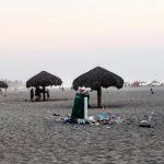 Basura en playas de rosarito
